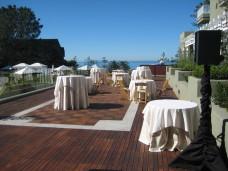 L'Auberge Del Mar Wedding Cocktail Hour