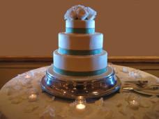 Cake Spotlighting - San Diego Wedding Lighting