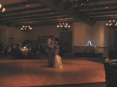 Cake Spotlighting At Distance - San Diego Wedding Lighting