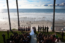 Scripps Forum La Jolla Beach Wedding Ceremony