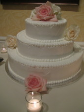 L'Auberge Del Mar Wedding Cake