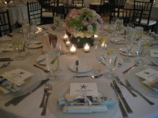 L'Auberge Del Mar Wedding Centerpieces