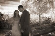 Wilson Creek Winery Wedding Couple
