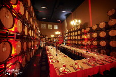 Wilson Creek Winery Wedding in Barrel Room