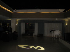 The Bristol Hotel San Diego Wedding Gobo Monogram