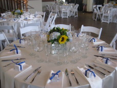 Powerhouse Del Mar Wedding Tables