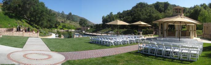 Los Willows Wedding Ceremony Site