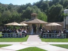 Los Willows Fallbrook Wedding Ceremony