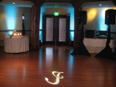 San Diego Wedding Uplighting & Monogram Projection