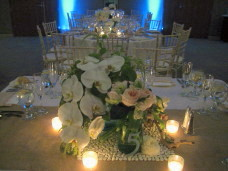 Scripps Forum San Diego Wedding Centerpieces
