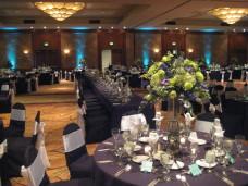 Hilton La Jolla Torrey Pines Wedding Centerpieces