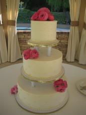 Los Willows Fallbrook Wedding Cake