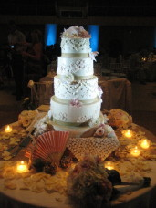 Cake Spotlighting San Diego Wedding