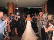 Bali Hai San Diego Wedding Exit