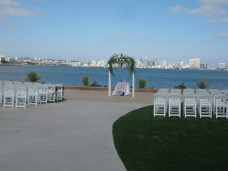 Admiral Kidd Club San Diego Wedding Ceremony