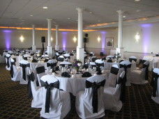 Admiral Kidd Club San Diego Wedding Uplighting