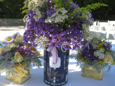 Berardo Winery Wedding Centerpieces