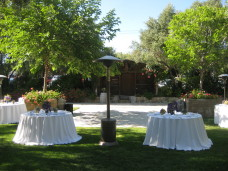 Berardo Winery Wedding Tables