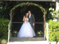 Rancho Bernardo Wedding Ceremony Bride & Groom