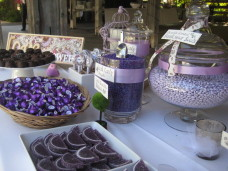 San Diego Wedding Candy Bar