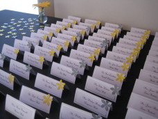 Omni San Diego Wedding Escort Cards