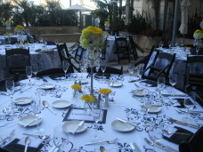 Omni San Diego Wedding Table Linens