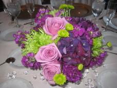 Bahia San Diego Wedding Florist Centerpieces
