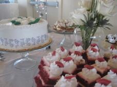 Park Manor San Diego Wedding Cake