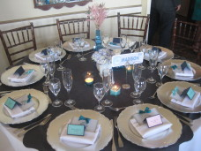 Park Manor San Diego Wedding Centerpieces