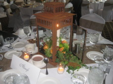 Admiral Kidd Club Wedding Centerpieces