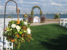 San Diego Wedding Ceremony Flowers