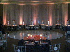 Scripps Forum La Jolla Wedding Lighting