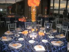 Scripps Forum San Diego Wedding Centerpieces
