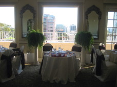 Park Manor San Diego Wedding Sweetheart Table