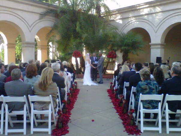 Balboa Park San Diego Wedding Ceremony