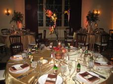 El Cortez San Diego Wedding Centerpieces & Linens