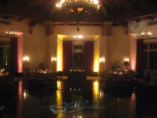 El Cortez San Diego Wedding Uplighting