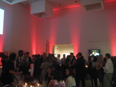 San Diego Wedding Red Uplighting