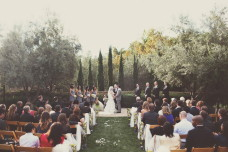 San Diego Wedding Ceremony at Estancia.
