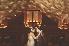 San Diego Wedding Lighting Ceiling Wash