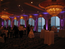 Bahia San Diego Wedding Uplighting
