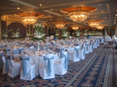 Large 300 person wedding at Bahia