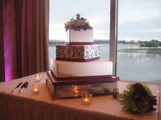 San Diego Wedding Cake at the Bahia