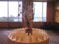 San Diego Wedding Escort Card Table