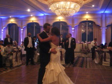 San Diego Wedding Uplighting & First Dance at the Bahia