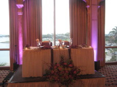 San Diego Wedding Sweetheart Table at the Bahia