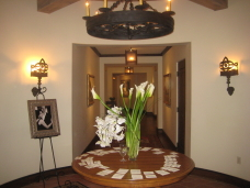 Rancho Santa Fe Golf Club Wedding Entryway