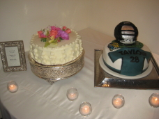 Rancho Santa Fe Wedding Groom's Cake