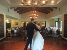 Rancho Santa Fe Wedding First Dance Practice