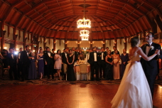 Hotel Del Coronado Crown Room Wedding First Dance